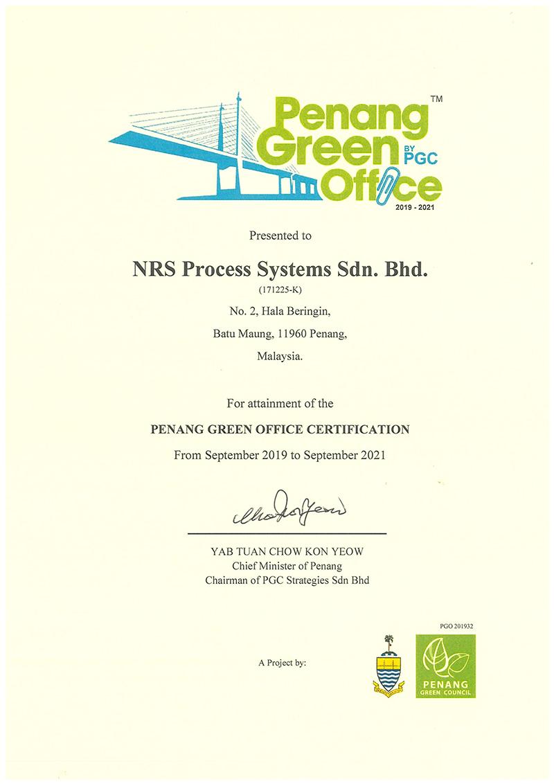 penang green office 2021
